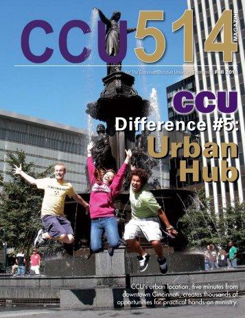 Difference #5: - Cincinnati Christian University