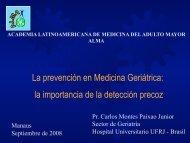 La prevención en Medicina Geriátrica - Academia Latinoamericana ...