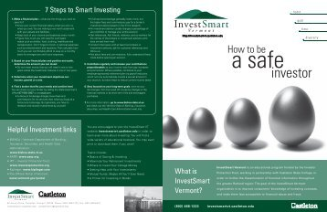 investor - Castleton State College