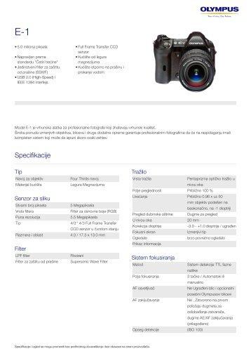 E-1, Olympus, Digital SLR