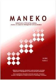 Číslo 1/2010 - Maneko