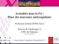 Fibrillation Auriculaire : nouveaux anticoagulants - Club des ...