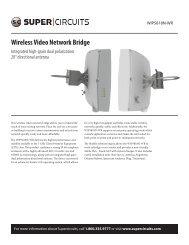 Wireless Video Network Bridge