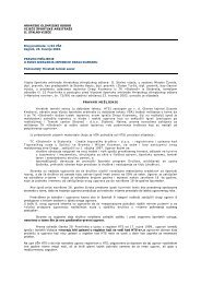 1/02 VÅA Zagreb, 23. travnja 2002. PRA - Hrvatski Olimpijski Odbor