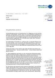 Offener Brief an die Mitglieder des Bundesrates Sehr geehrte ...