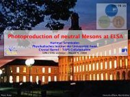 Photoproduction of neutral Mesons at ELSA