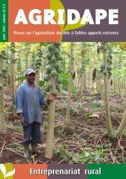 Août 2009 - Volume 25, n°2 - Entreprenariat rural - IED afrique