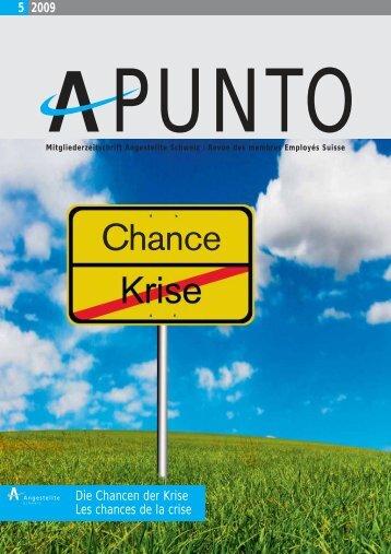 Apunto 5/2009 - Angestellte Schweiz