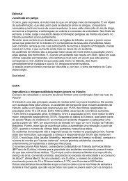 Editorial Juventude em perigo O carro, para os jovens, é ... - Detran