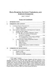 data sharing, latency variables, and - Digital Library Of The ...