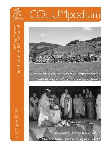 COLUMpodium 03-2006.pdf - Stiftung Columban