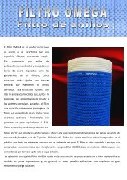 Bajar la ficha técnica en formato Adobe PDF. - pancera tubi e filtri srl