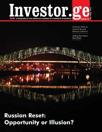 Issue 1, 2013 February-March - Investor.ge