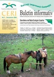 Dezvoltarea unei Reţele Ecologice Carpatice
