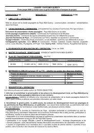 fiche projet - Pays Midi-Quercy
