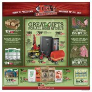 15% off regular - Del's - Feed And Farm Supply