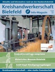 Konjunkturumfrage 2009/2010 - Kreishandwerkerschaft Bielefeld