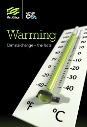 Warming: Climate change – the facts - Worcester City Council