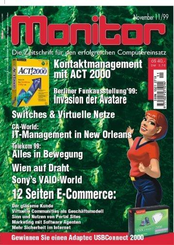 Die komplette MONITOR-Ausgabe 11/1999 können Sie