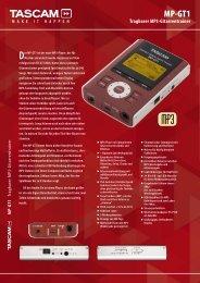 MP-GT1 - de Grooth Audio Service