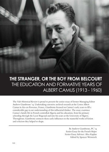 The Stranger Or the Boy from Belcourt