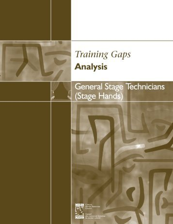 (Stage Hands) Training Gaps Analysis - Conseil des ressources ...