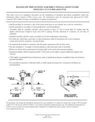 Backflow Prevention Assembly Installation Guide - Charleston Water ...