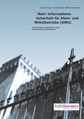 Informations- sicherheit für Klein- und Mittelbetriebe - AEK Bank 1826