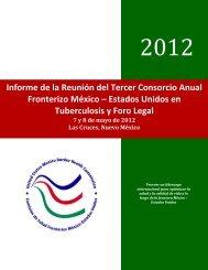Reunión del Consorcio Fronterizo México-Estados Unidos en TB y ...