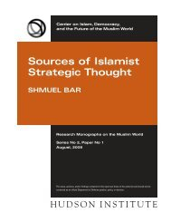 new monograph:Layout 1 - Current Trends in Islamist Ideology