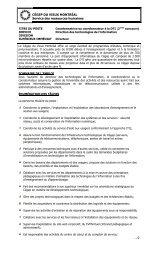 Description Coordonination DTI avec infos supp - Cégep du Vieux ...