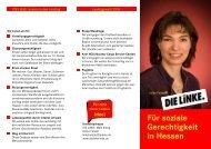 Für soziale Gerechtigkeit in Hessen - DIE LINKE. Main-Kinzig