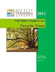 Fall Guide to GPG Trees - Greater Philadelphia Gardens