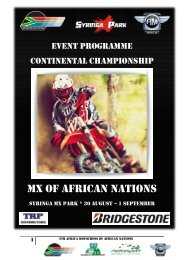 MX OF AFRICAN NATIONS