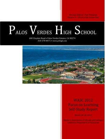 Post Visitation, Chapter V: School-wide Action Plan - WASC 2012