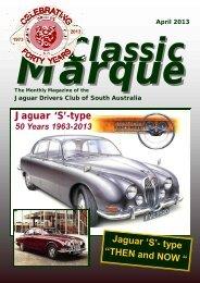 Classic Marque Template April 2013 - Jaguar Drivers Club of South ...