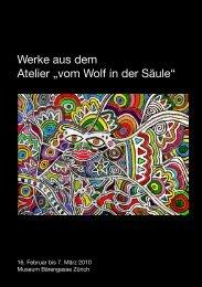 Flyer - vom Wolf in der Säule