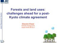 Forests and land uses: challenges ahead for a post- Kyoto climate ...