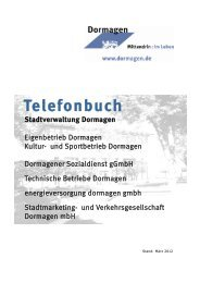 Telefonbuch - Stadt Dormagen