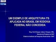 ITS na BR-116 - Rio Grande do Sul Corredor Porto ... - IPR - Dnit