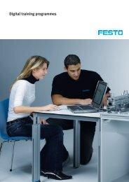 Digital training programmes - Festo