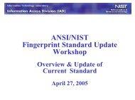 McCabe - ANSI NIST Standard