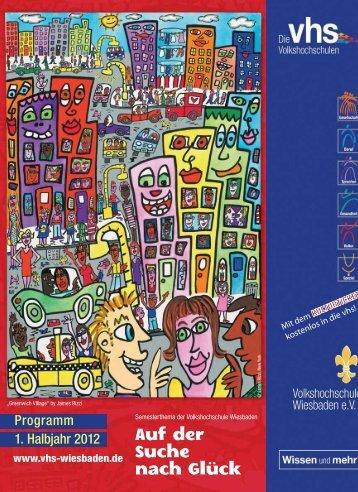 Kultur und Kreativität - Volkshochschule Wiesbaden