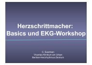 Herzschrittmacher: Basics und EKG-Workshop - Vivantes