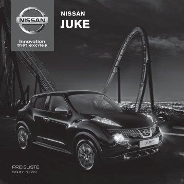 Preisliste Juke Jan 2013