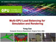 Multi-GPU Load Balancing: Simulation & Rendering