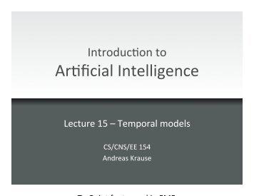 Temporal models