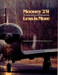 mooney 205 - Aero Resources Inc