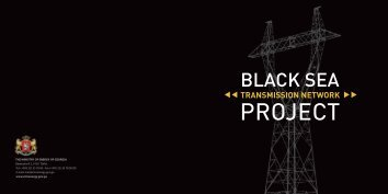 black sea transmission network project - Hydropower Investment ...