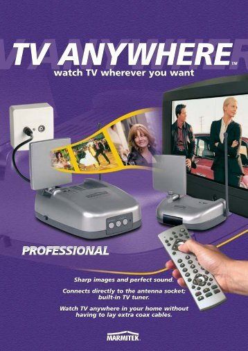 watch TV wherever you want watch TV wherever you ... - Okos Otthon